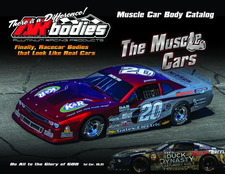 New 2016 LMSC, Muscle Car Catalogs Availble - ARbodies.com