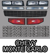 Chevy Monte Carlo Body Graphic Kit