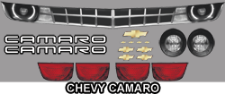Chevy Camaro Body Graphics Kit