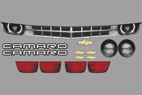 Chevy Camaro Master Graphics ID Kit