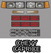 Chevy Caprice Body Graphic Kit