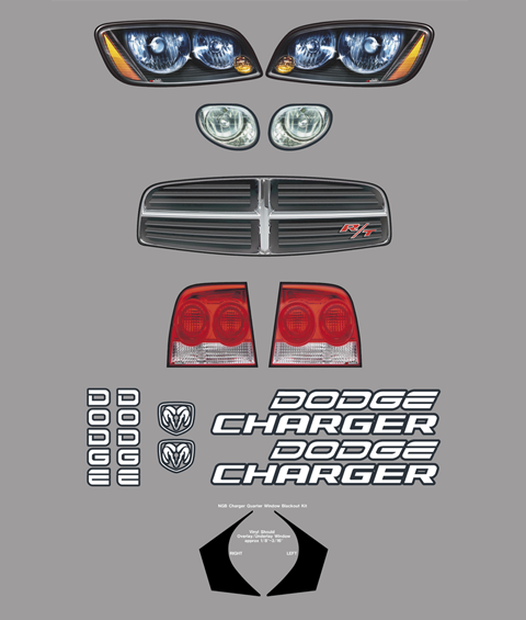 Dodge Charger Master Graphics ID Kit