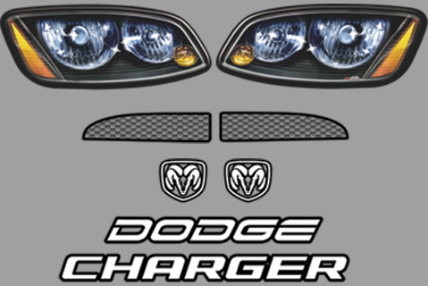 Dodge Charger Nose ID Kit