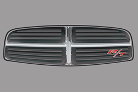 Dodge Charger Upper Grill Decal