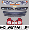 Chevy malibu Graphics Kit