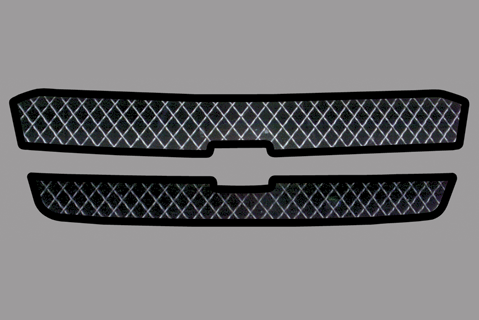 Chevy Silverado Upper Grill Decal