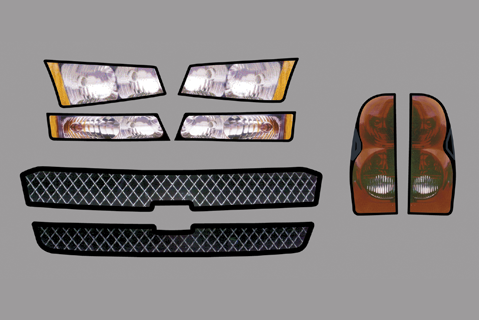 Chevy Silverado Master Graphics ID Kit