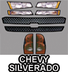 Chevy Silverado Body Graphic Kit