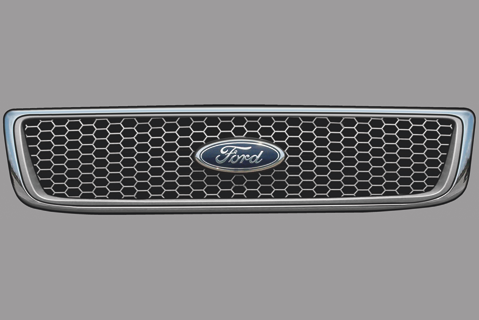 Ford F-Sereis Upper Grill Decal