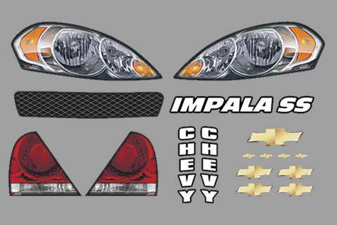 Chevy Impala Master ID Graphics Kit