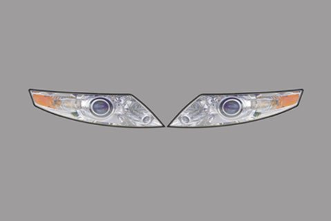 Lincoln MKS Headlights