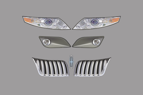 Lincoln MKS Nose ID Kit