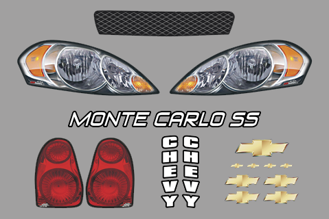 Chevy Monte Carlo Master Graphics ID Kit