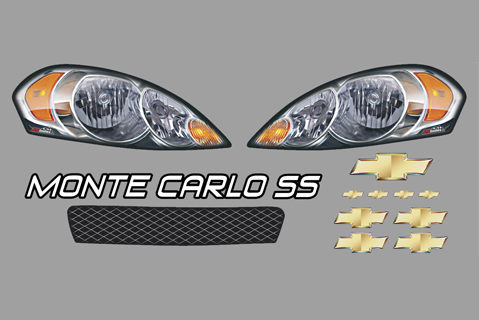 Chevy Monte Carlo Nose ID Kit