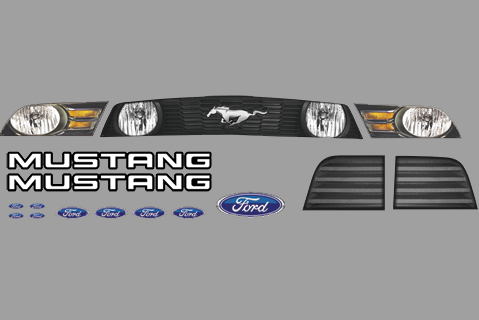 Ford Mustang Nose Id Kit