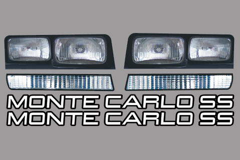 88 Monte Carlo Headlights