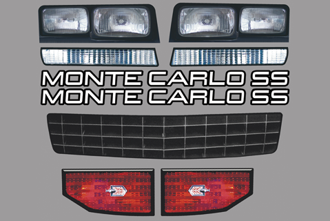 88 Monte Carlo Master Graphics ID Kit
